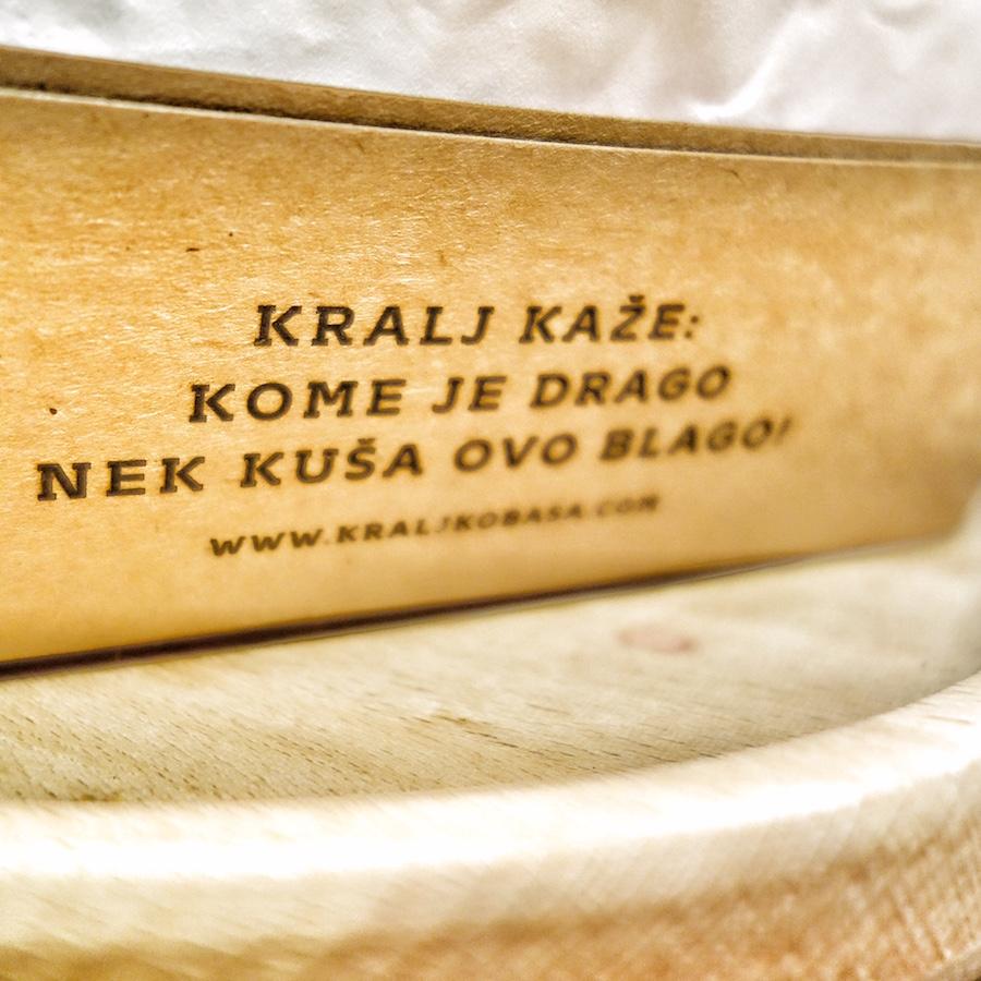 kralj kobasa slogani