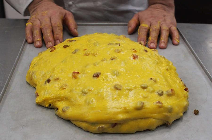 panettone-tijesto